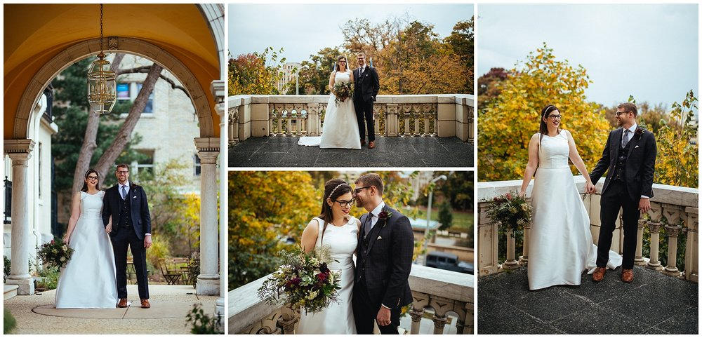 wedding at josephine butler park center