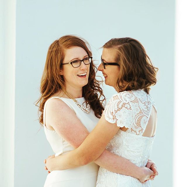 I'm so lucky and grateful to get to do what I love most, which is to showcase other wonderful humans in love 💜  #queerweddingphotographer #lgbtwedding #lovewins