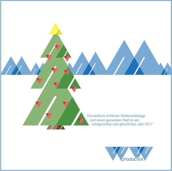 Weihnachtskarte 2016 | ww production GmbH