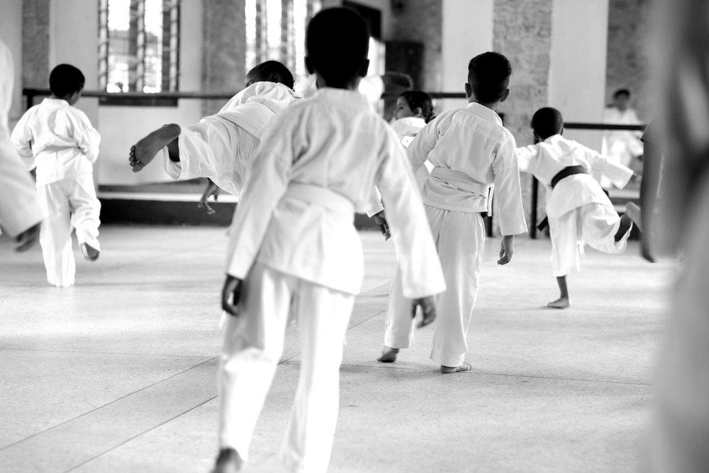 Karate Lessons, Tanzania