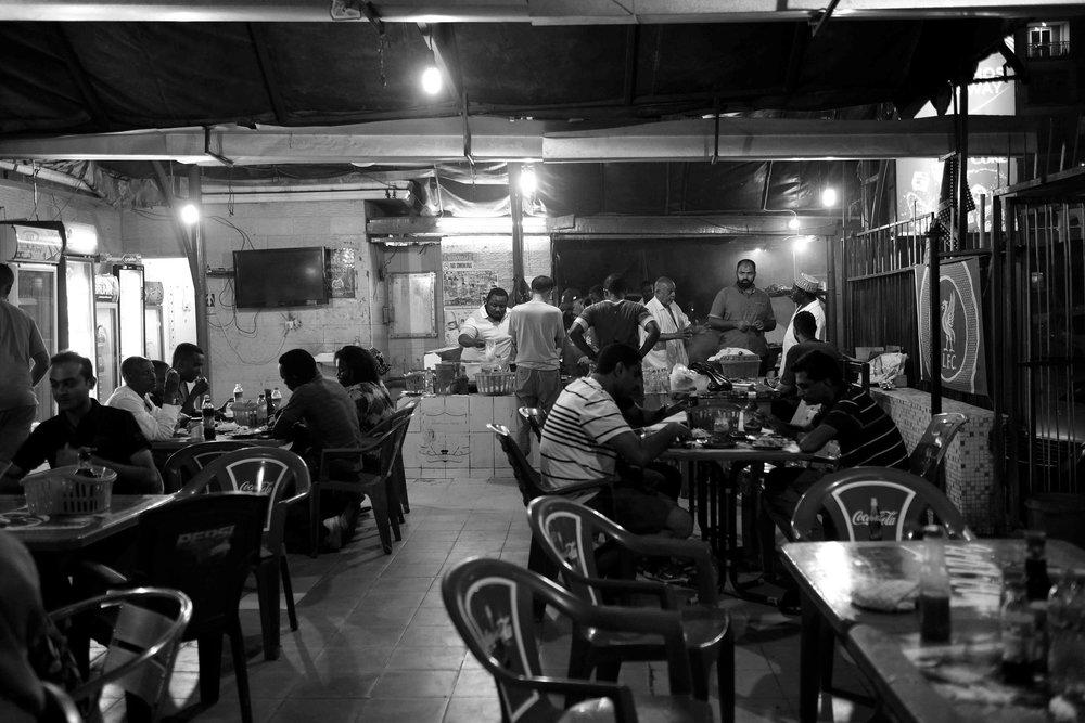 The restaurant scene
