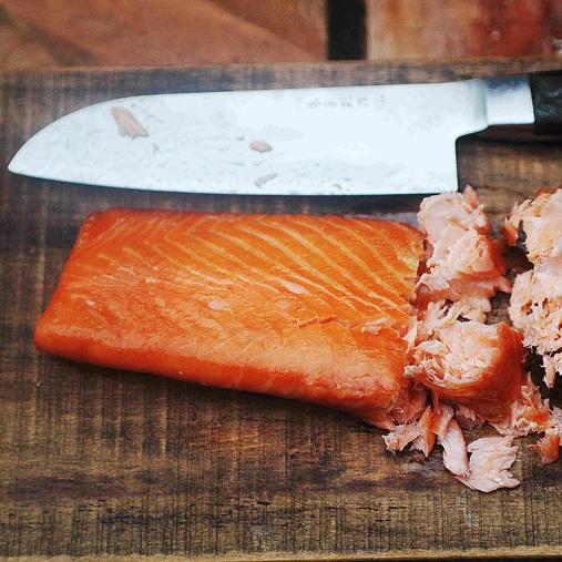 Wood Smoked Salmon