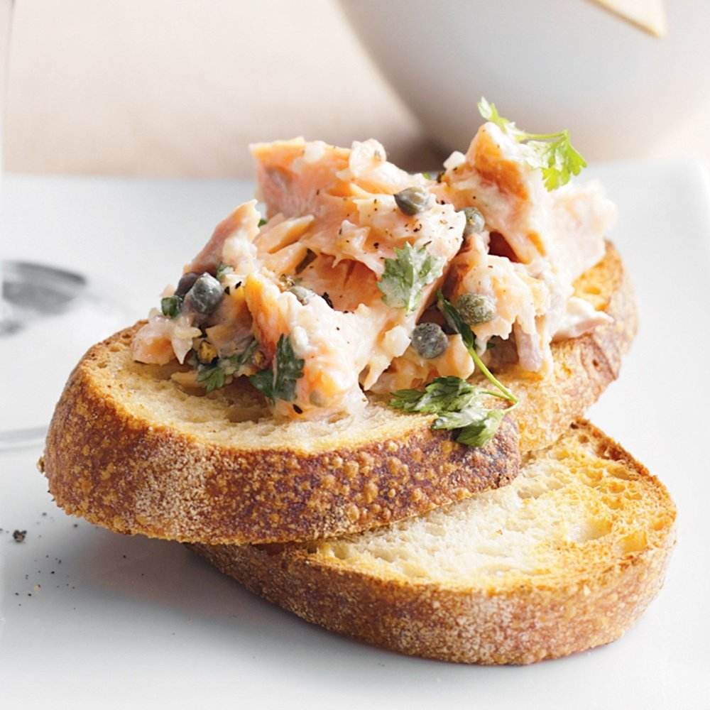 Smoked Ocean Trout Rillettes