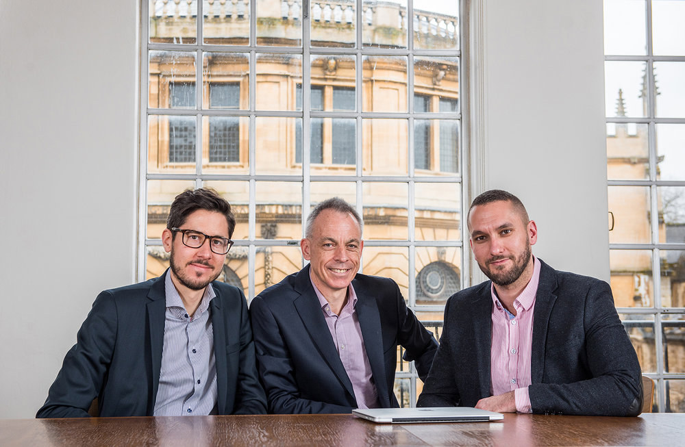 Evox Founders: Dr Per Lundin |Professor Matthew Wood | Dr Samir EL Andaloussi