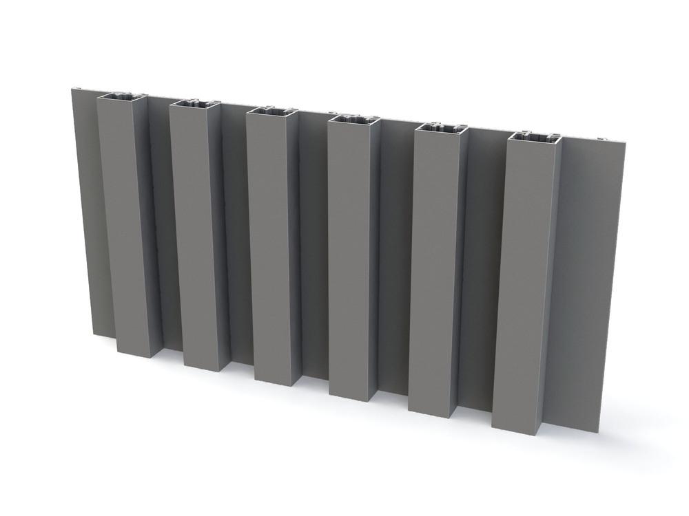 Mato 1 aluminium gevelbekleding