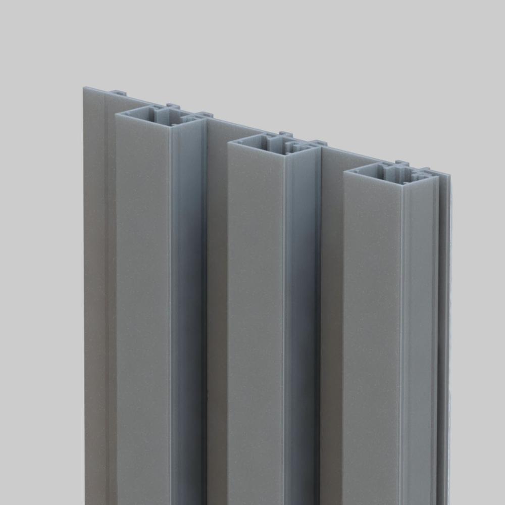 Mato 1 is een blokvormig profiel van 20×30mm. Hierdoor verkrijg je een strak en minimalistisch verticaal lijnenspel.