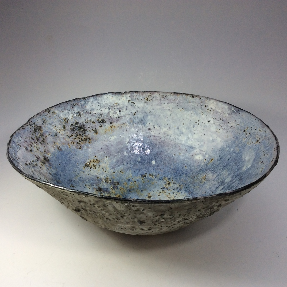 Blue Stony Bowl