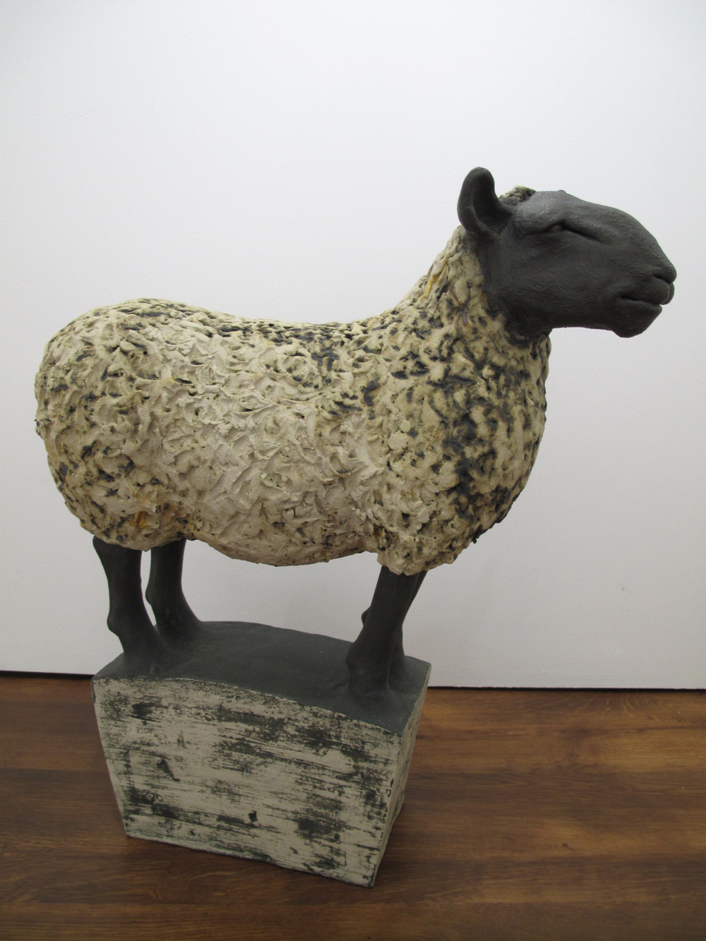 Sheep on Plinth