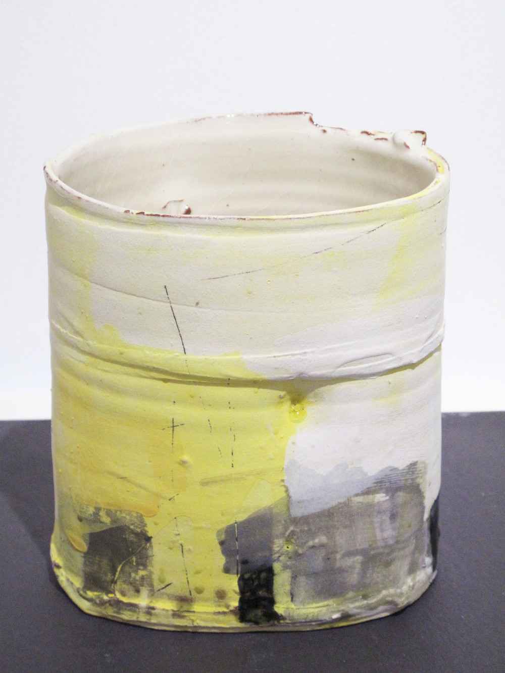 Vessel with Yellow