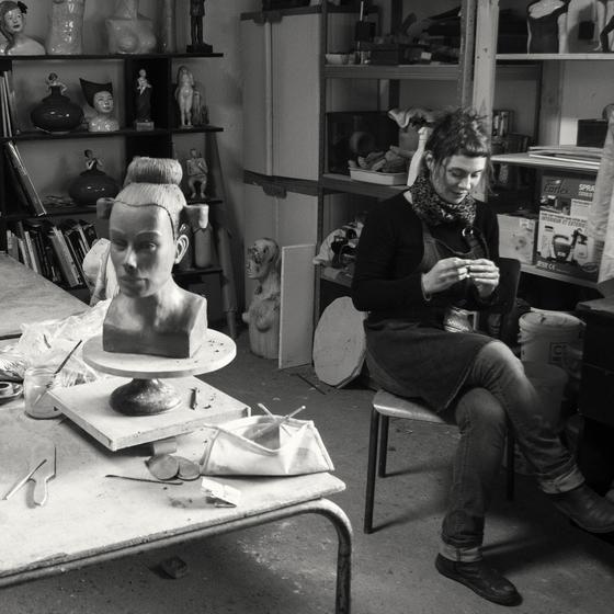 M 233 Lanie Bourget Ceramics Sculpture Kellie Miller Arts