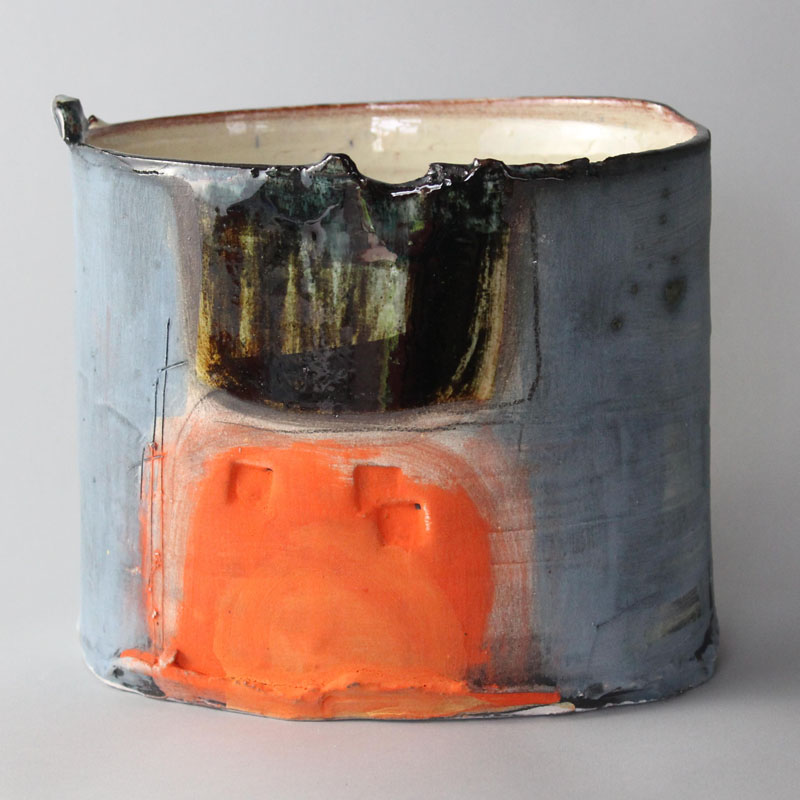 Thrown and altered vessel - Barry Stedman