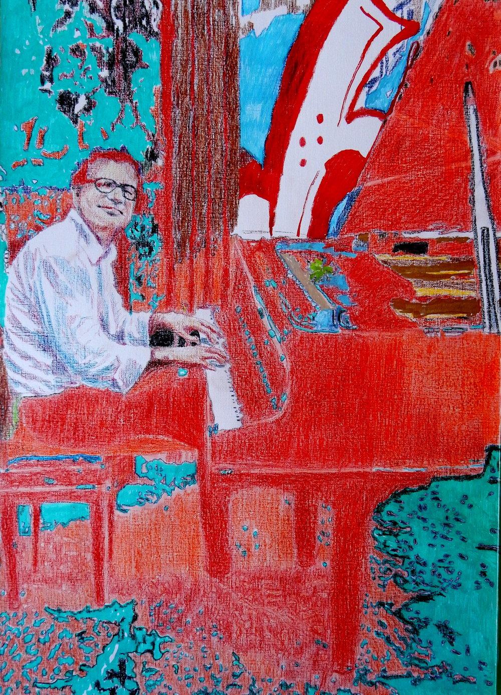 Paolo Zanarella il pianista fuori posto