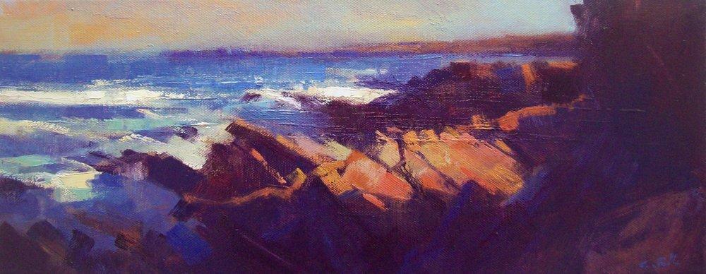 Jonathan Smith : Evening Rocks