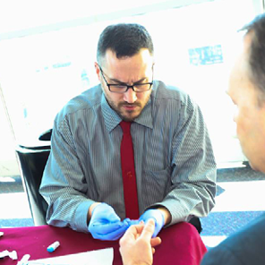 workplace screening are convenient and fast