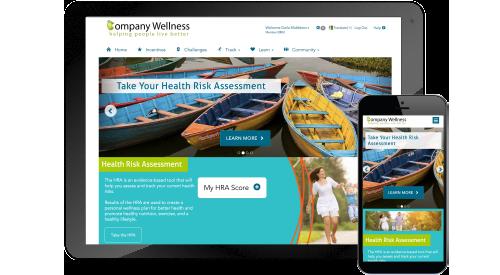 wellness portal wellbeing portal wellness website corporate wellness program portal