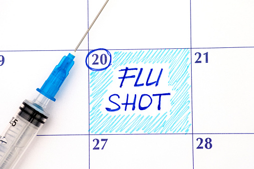 corporate flu shot company flu clinic