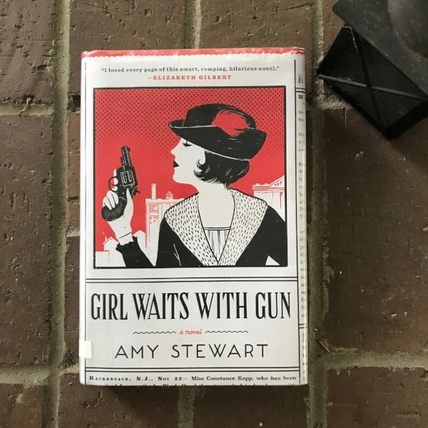 Girl Waits with Gun by Amy Stewart - An adult true-crime/mystery novel.