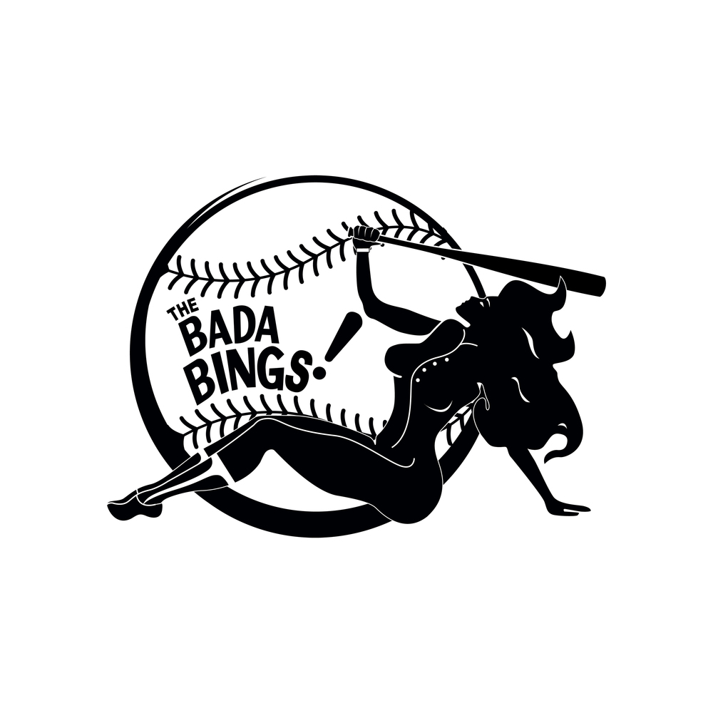 softball logo � margin media