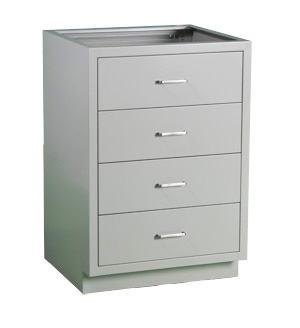 Cabinet, base, 24Lx35Hx22D, 4 drawer, shadow - TSL2435AE-SSAA  (125lbs) $630