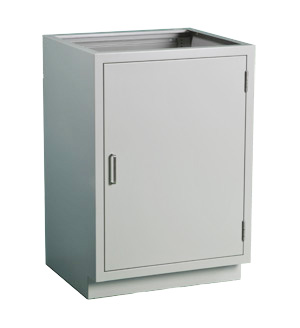 Cabinet, base, 24Lx35H, 1 door, shadow - TSL2435AA-SSAA (100LBS) $593