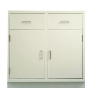 Cabinet, base, 35Lx35Hx22D, 2 drawer / 2 door, shadow - TSL3535DD-SSAA (135lbs) $630