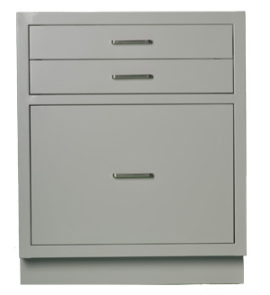 Cabinet, base, 24Lx29Hx22D, 3 drawer, shadow - TSL2429AG-SSAA (90lbs) $631