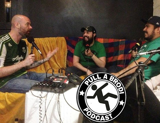 We had a great time recording with @goatimus_prime last night. #PullaBrodi #Podcast #Fridaynight #Recording #ParksandRec #KLAQ #stpatricksday #itsallgoodep #LaloElan