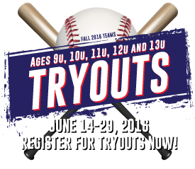 Pre-Register online for Tryouts now!