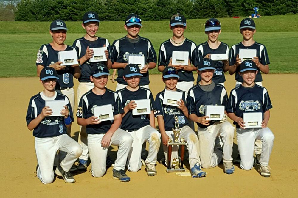 12U West Chester Dragons Baseball Team