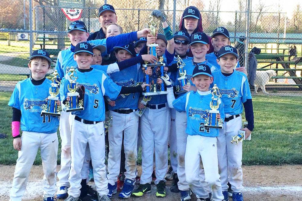 10U West Chester Dragons NL win NELL Spring Kickoff 2016