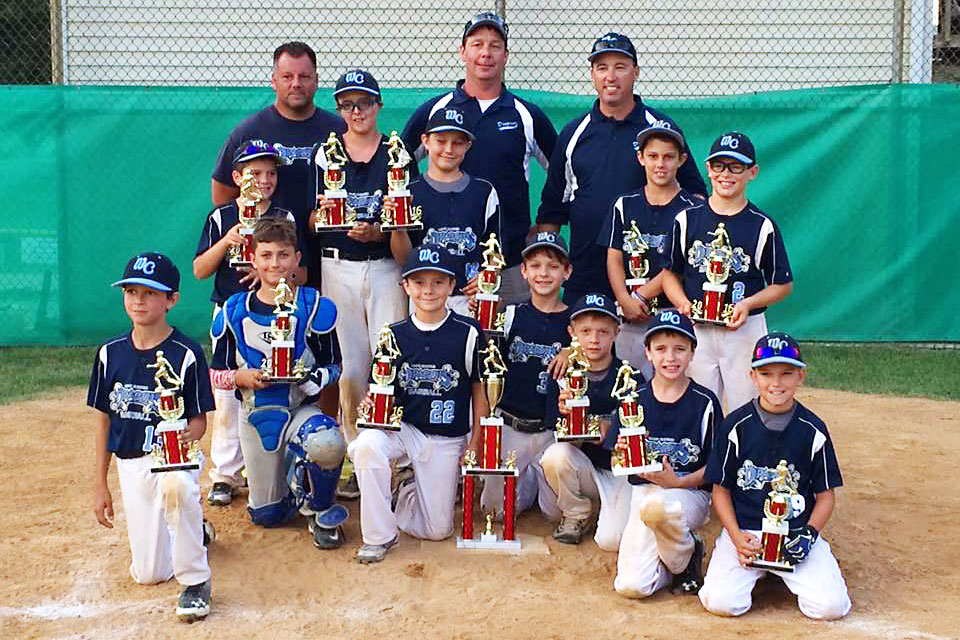 10U West Chester Dragons NL baseball team win the NELL Labor Day Classic 2016 Tournament
