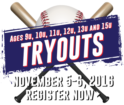Register now for Spring 2017 Tryouts!