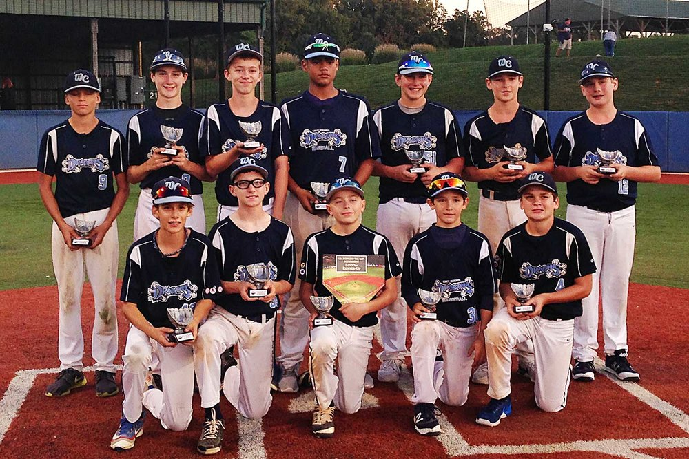 13U West Chester Dragons NL baseball team
