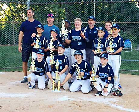 11U West Chester Dragons AL baseball team