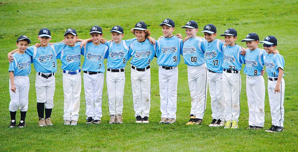 9U West Chester Dragons NL baseball team