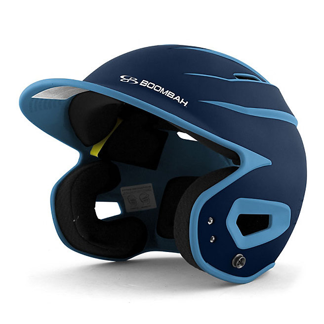 Boombah DEFCON Batting Helmet Sleek Profile, Navy/Columbia Blue  $39.99