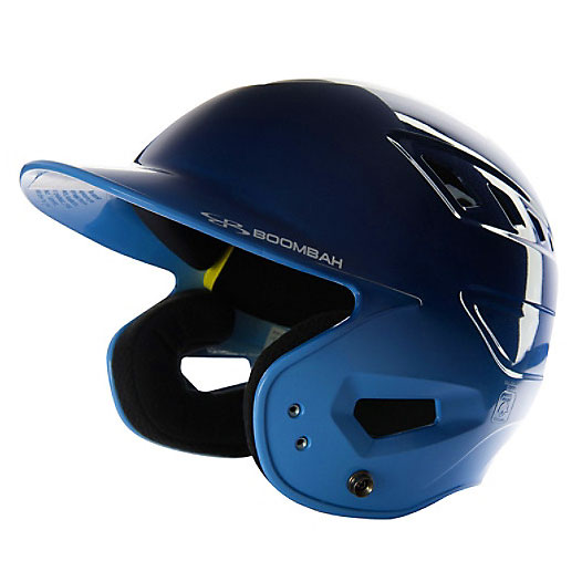 Boombah DEFCON Metallic High Gloss Fade Helmet, Metallic Navy/Metallic Columbia Blue  $39.99