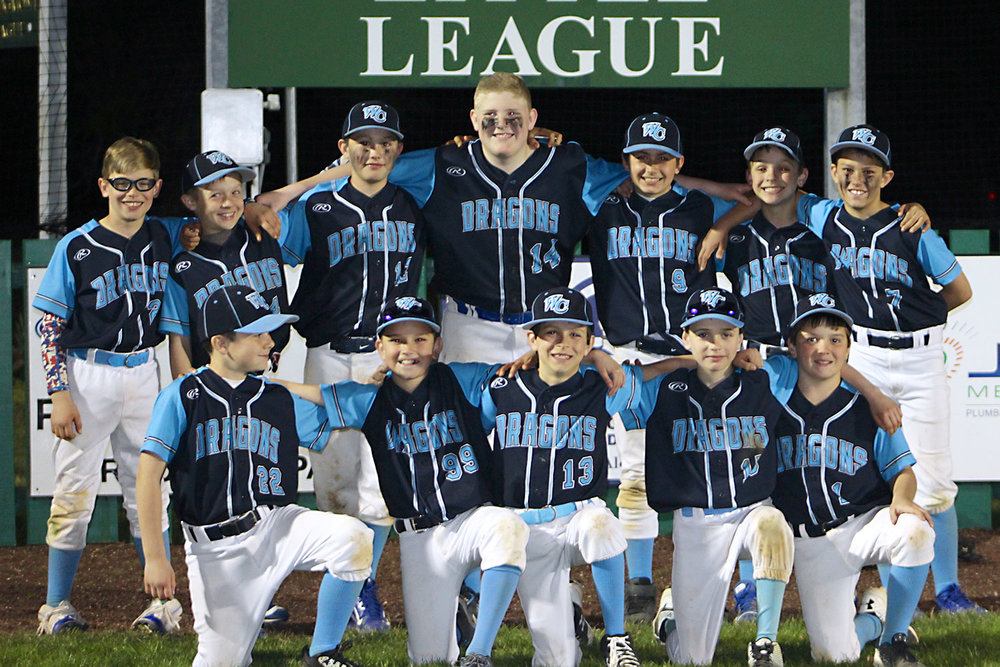 10U NL West Chester Dragons baseball team wins NELL Spring Blast Off 2017 Tournament