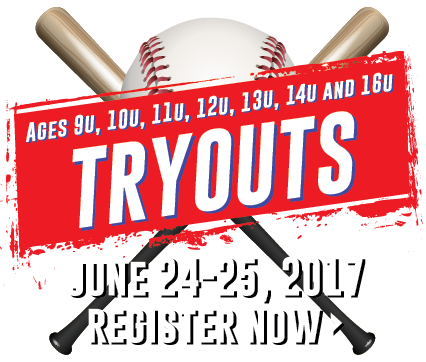 Travel Baseball Tryouts for Fall 2017 Teams