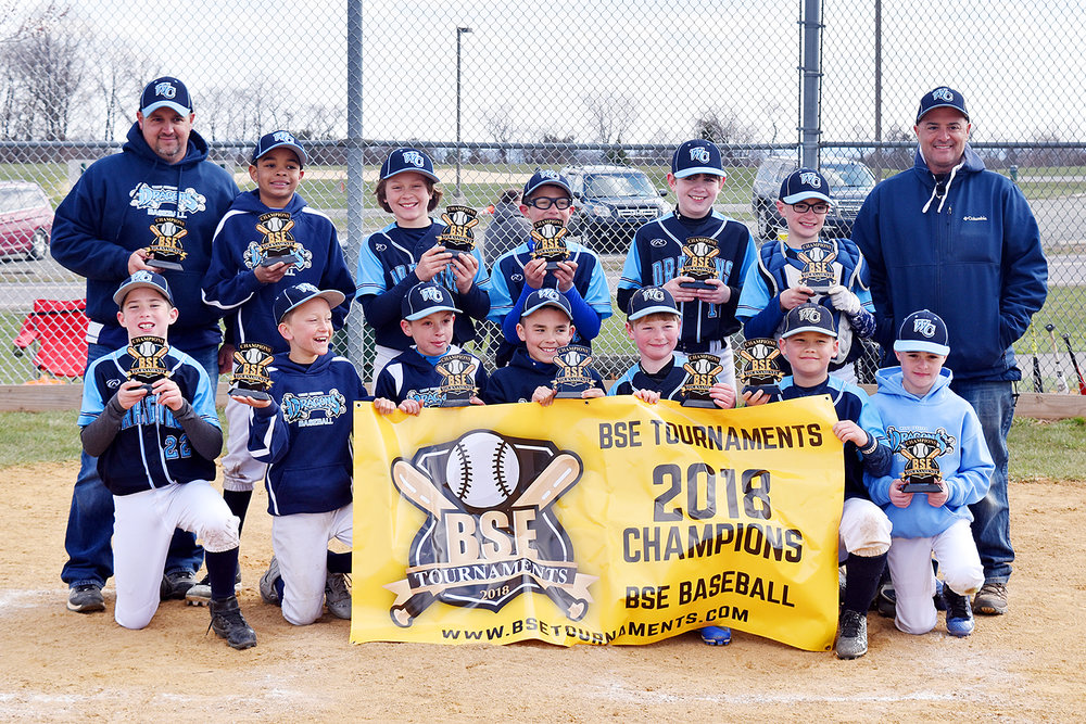 10u West Chester Dragons NL baseball team won the BSE 4th Annual Spring Kickoff Tournament on April 8, 2018