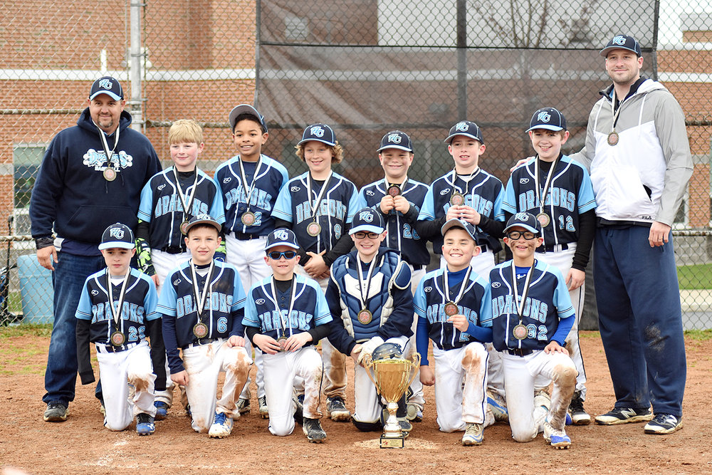 10u West Chester Dragons NL won the Future Stars 3rd Annual Spring Opener 2018 Tournament on April 15, 2018