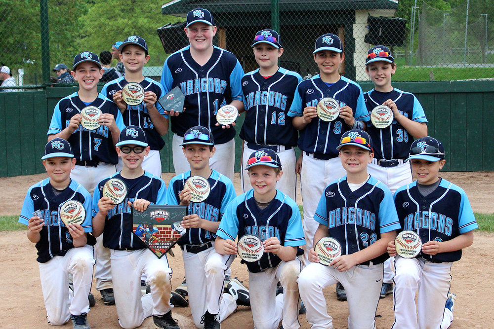 11u NL West Chester Dragons travel baseball team won the Hot Corner Tournament 2018 at The Ripken Experience Aberdeen.