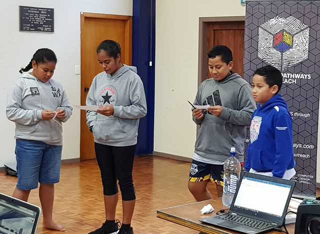 Had an awesome few days with the kids and community from the Atafu Tokelau Group at the Matauala Hall in Porirua. Working with the kids to coming up with innovative ideas they think can address issues that they can relate too as #PacificPeople and as a community from Porirua.  Had an awwsome time delivering a programme which enables them to learn new skills at a young age, developing ideas and opening their eyes to #entrepreneurship and #globalchange. Thanks for having us guys. See you next time. 😁