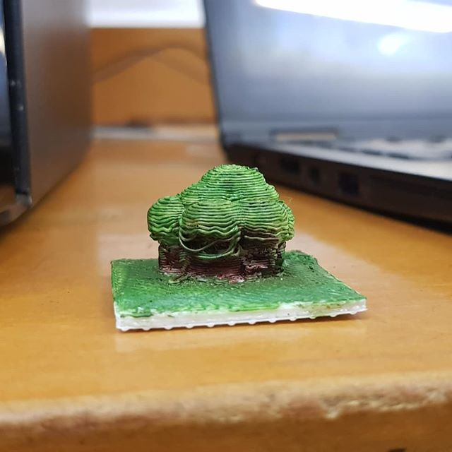 🌳🌳🌳 ` Save the environment #3dprint #3dprinting #paint