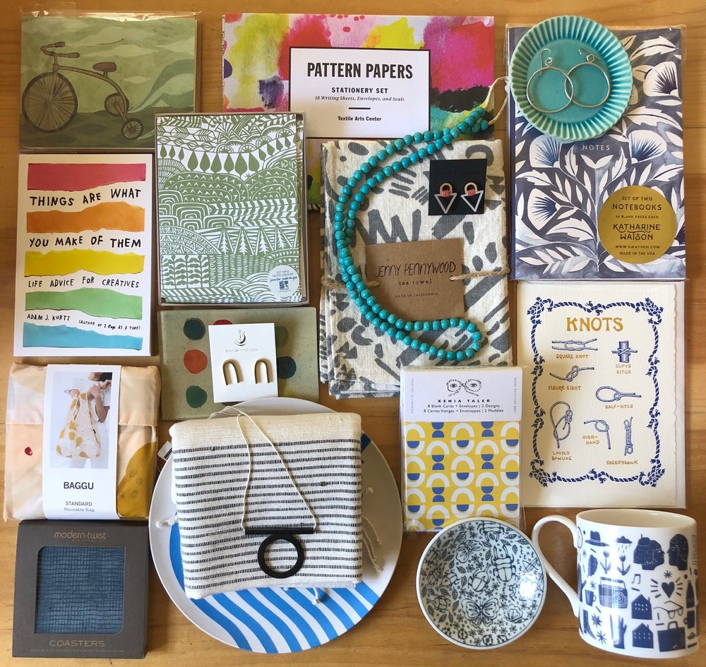We delight in choosing the beautiful items we carry! Seriously. It's our favorite part.