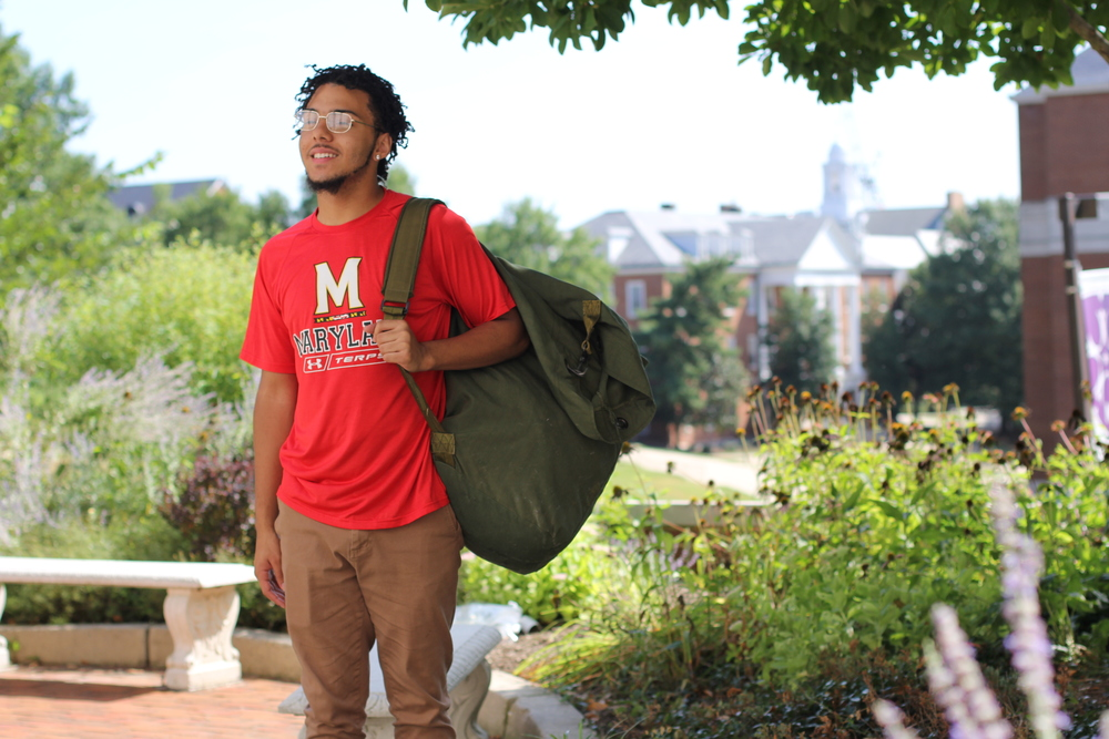 Isaiah, a member of SEED Maryland's first graduating class, is now a student at the University of Maryland.