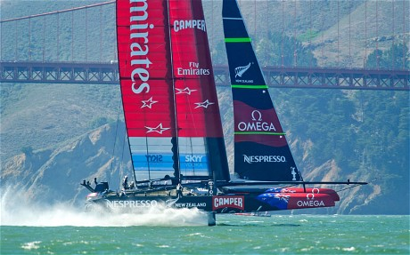 Emirates Team New Zealand (AFP/Getty Images)