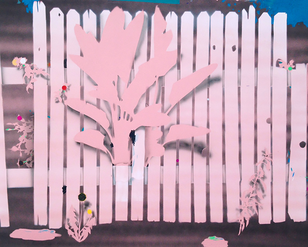 This Weird Pink Fence