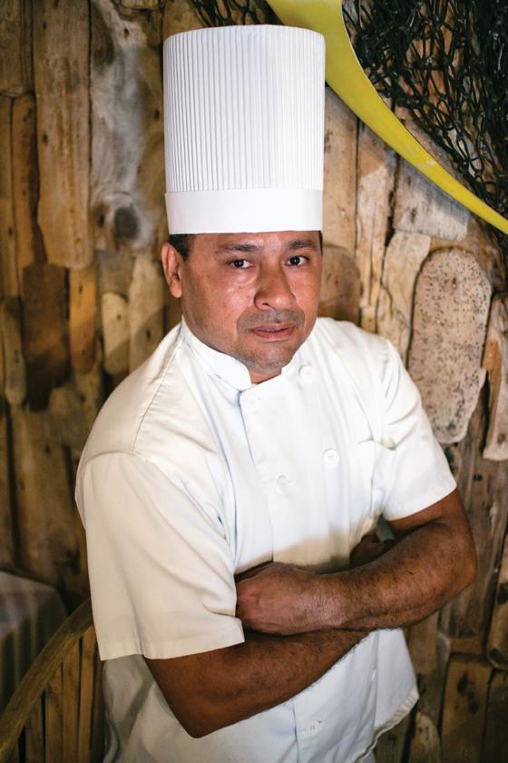Yiovani Rangel    Chef – Driftwood Restaurant