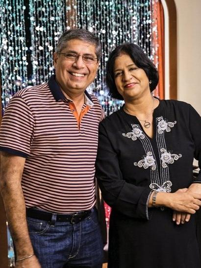 Rajesh and Shobina Matai    Owners – Tandoor the Indian Grill House